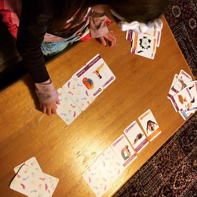 Yoga Poses Card Game | Kids Yoga Stories