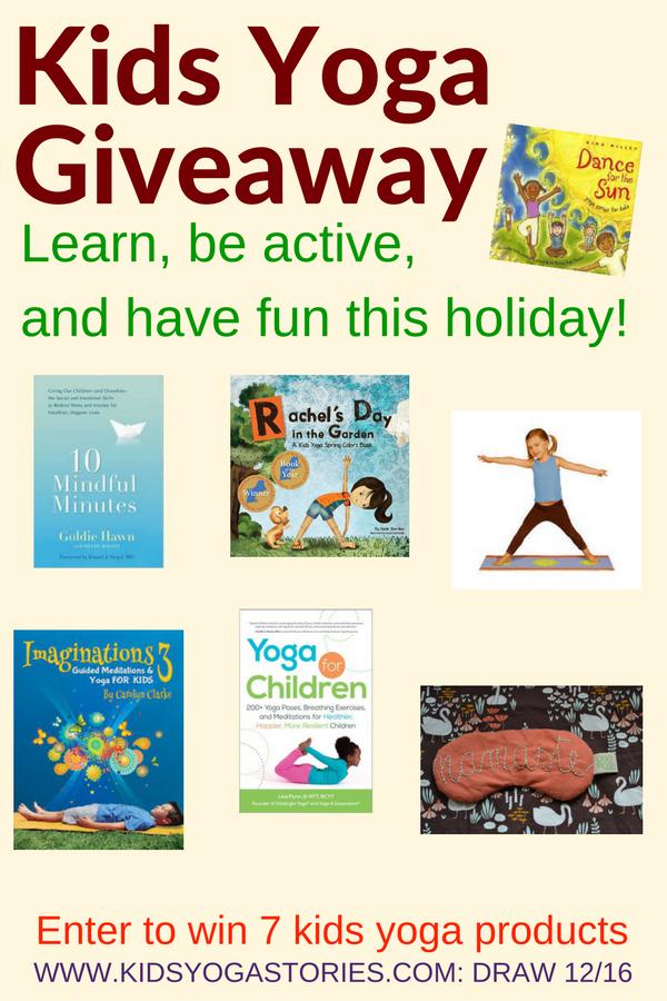 Kids Yoga Starter Kit Giveaway | Kids Yoga Stories