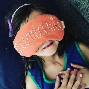 Namaste Eye Pillow by Ogopogo Land