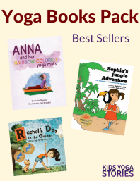 10% off Popular Yoga Books Pack | Kids Yoga Stories