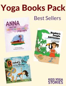 10% off Popular Yoga Books Pack | Kids Yoga Stories