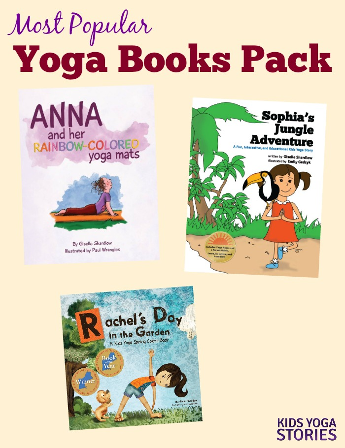 Popular Yoga Books Pack (English) Image