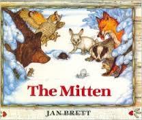 The Mitten book by Jan Brett