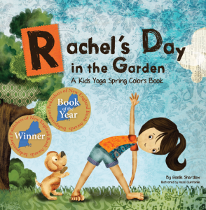 Award-Winning Rachel's Day in the Garden yoga book | Kids Yoga Stories