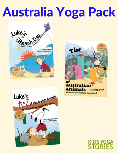 Australia Yoga Pack (English) - Kids Yoga Stories