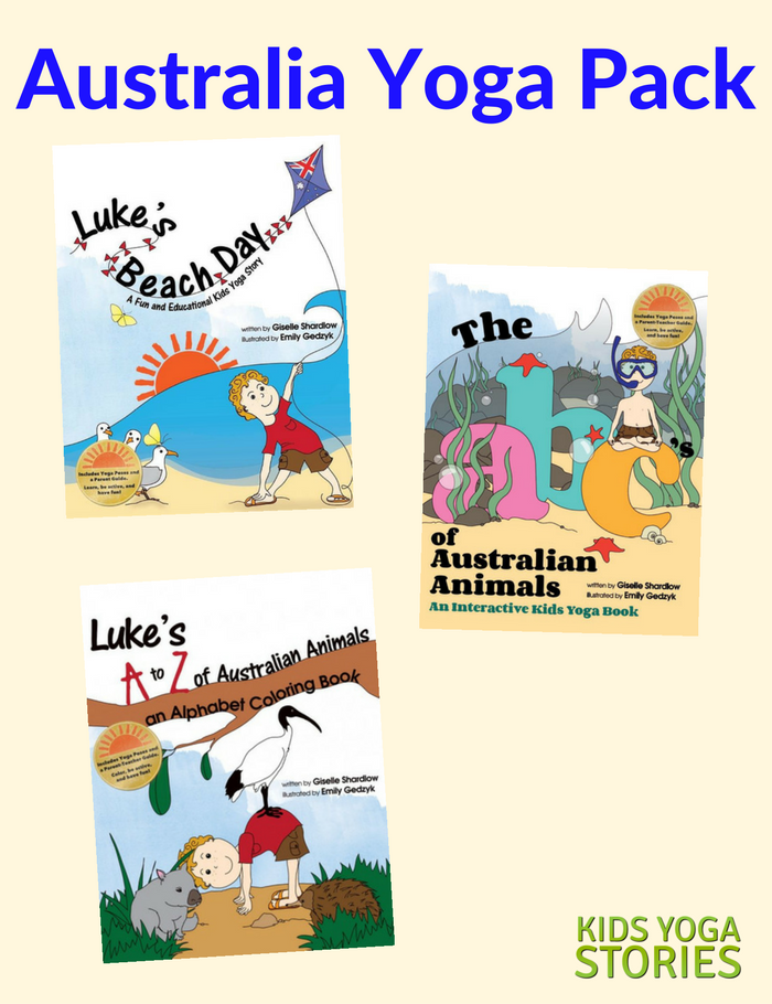 Australia Yoga Pack (English) - Kids Yoga Stories