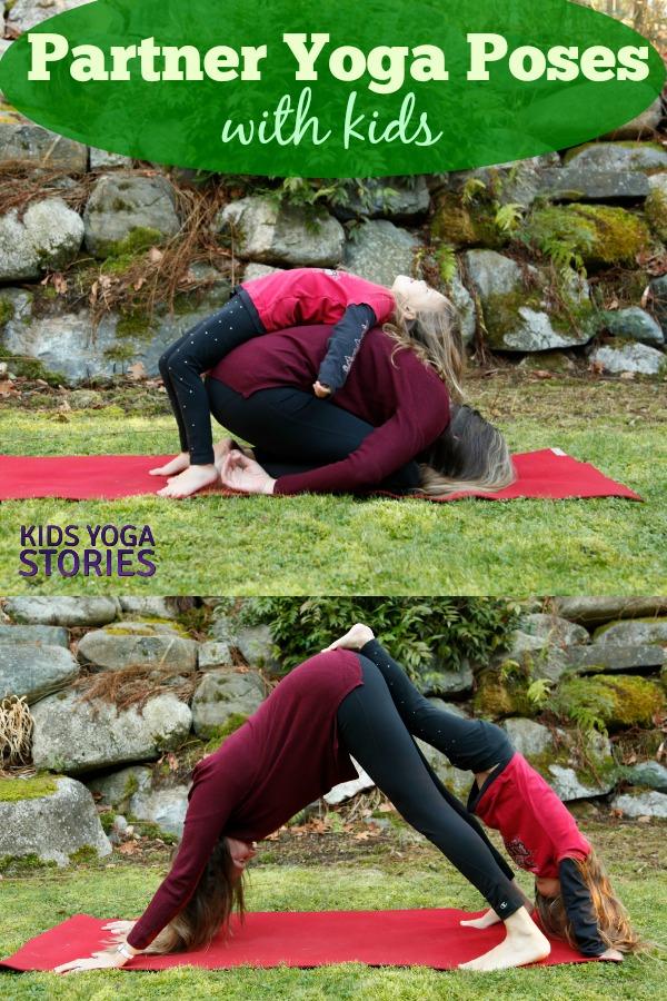 5 Partner Yoga Poses with Kids   Kids Yoga Stories