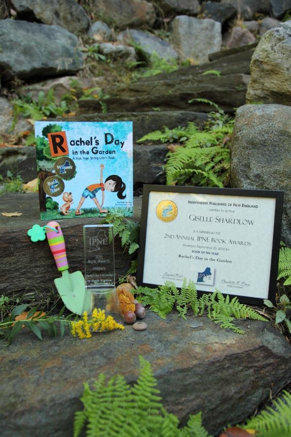 Award-Winning best yoga book Rachel's Day in the Garden | Giselle Shardlow, Kids Yoga Stories