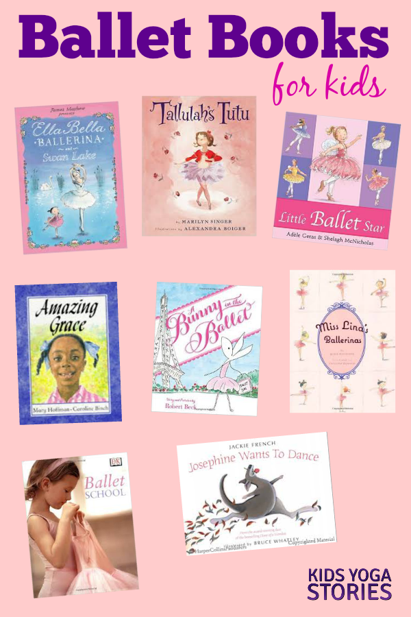 Ballet Books for Kids | Kids Yoga Stories