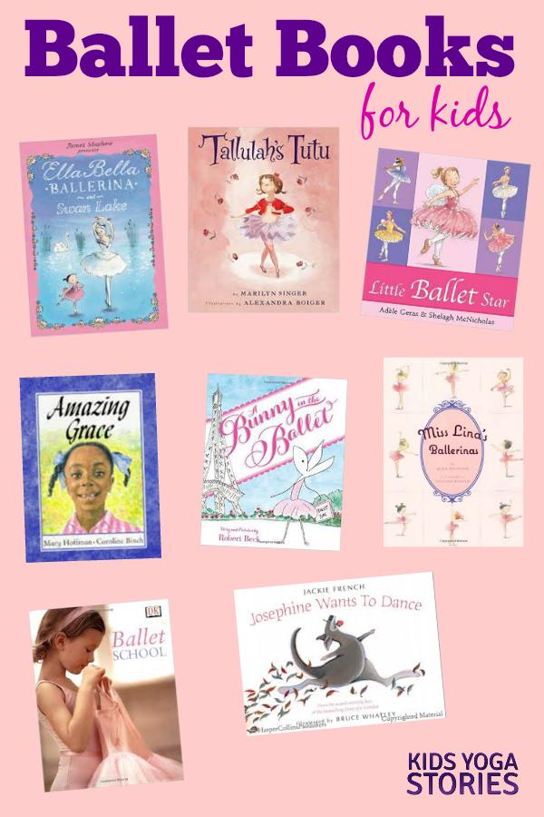 Ballet Books for Kids | Kids Yoga Stories