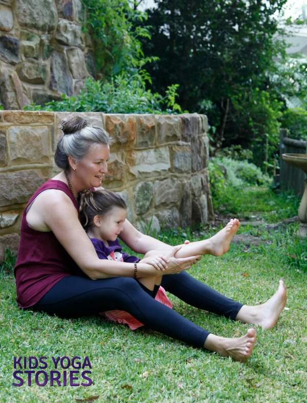 Ballet Yoga: practice Boat Pose for core strength | Kids Yoga Stories