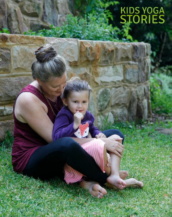 Ballet Yoga: practice Easy Pose to sit tall   Kids Yoga Stories