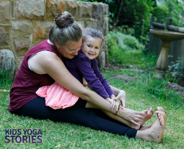 Ballet Yoga: practice Seated Forward Bend to stretch legs and gain flexibility | Kids Yoga Stories