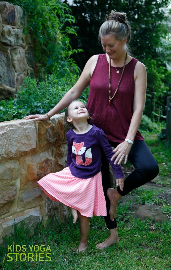 Ballet Yoga: practice Tree Pose for balance | Kids Yoga Stories