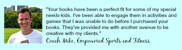 Coach Mike's testimonial of Kids Yoga Stories books