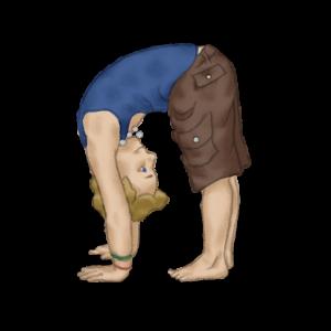 Standing Forward Bend Pose | Kids Yoga Stories