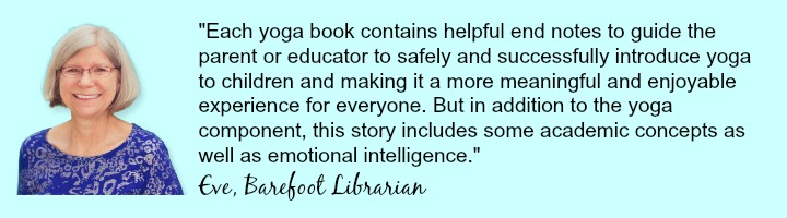 Eve Panzer from Barefoot Librarian - testimonial for Kids Yoga Stories books