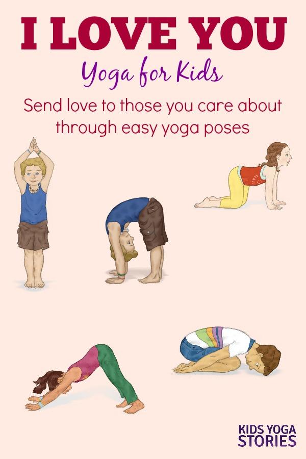 I LOVE YOGA yoga for kids | Kids Yoga Stories
