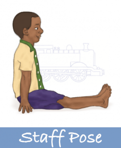 Staff Pose For Kids