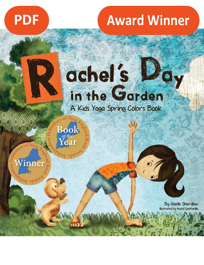 Rachel S Day In The Garden Pdf Download English Kids Yoga Stories Yoga Books Yoga Cards