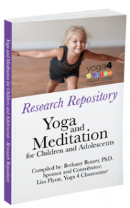 """""""Research Repository: Yoga and Meditation for Children and Adolescents"""""""