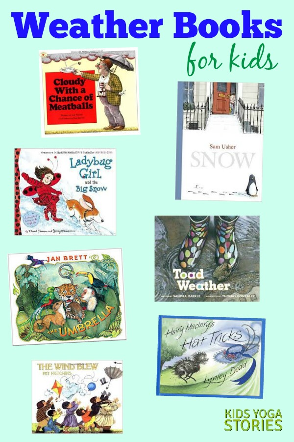 Weather Books for Kids | Kids Yoga Stories