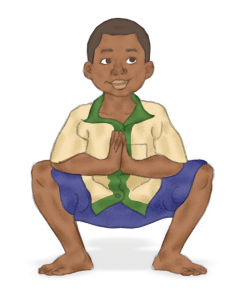 Squat Pose for Kids   Kids Yoga Stories