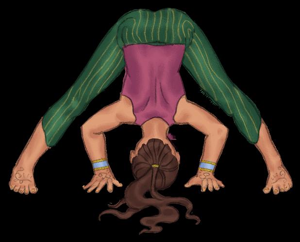 Wide-Legged Forward Bend Pose for Kids   Kids Yoga Stories