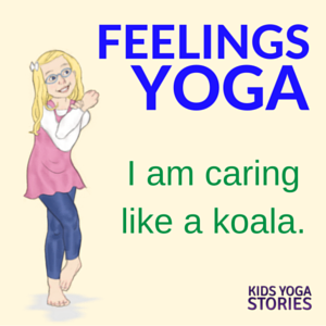 Emotions Yoga: talk about feelings through 5 yoga poses for kids | Kids Yoga Stories