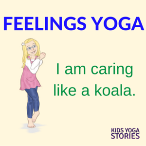 Emotions Yoga: learn about feelings through 5 yoga poses for kids | Kids Yoga Stories