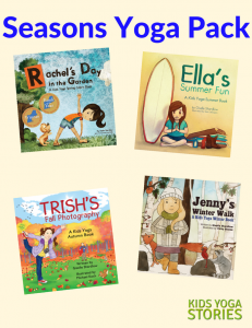 Seasons Yoga Books Pack - Kids Yoga Stories