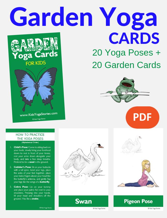 garden ideas for kids, garden yoga for children | Kids Yoga Stories