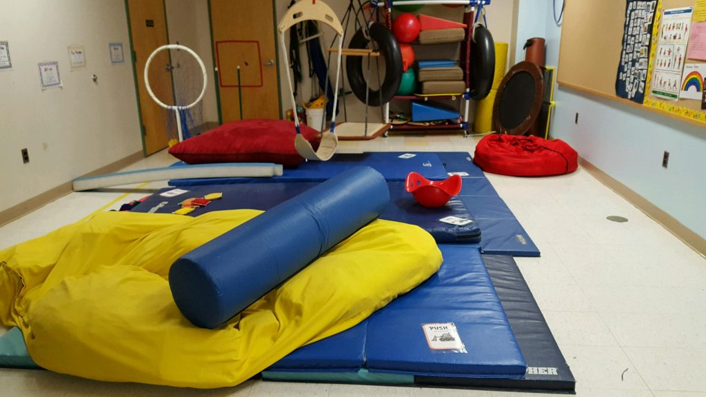 construction zone themed obstacle course for Physical Therapy | Kids Yoga Stories