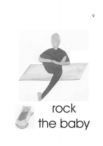 Rock the Baby Pose for children with autism