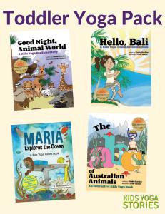 Toddler Yoga Pack (English) - Kids Yoga Stories