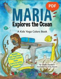 Maria Explores the Ocean PDF Download (English) Image