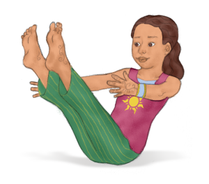 Boat Pose for Kids | Kids Yoga Stories