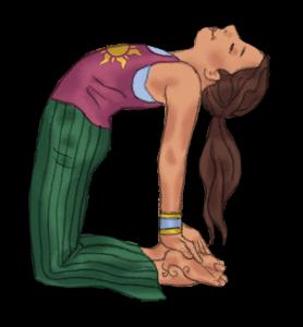 Camel Pose for Kids | Kids Yoga Stories