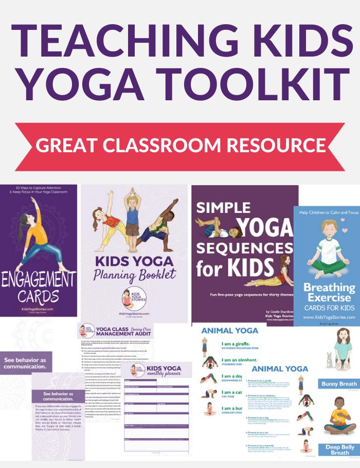 Teaching Kids Yoga Toolkit | Kids Yoga Stories