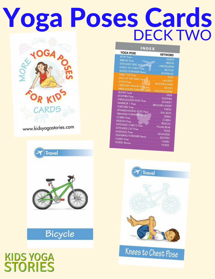 More Yoga Poses for Kids (Deck Two) - Kids Yoga Stories