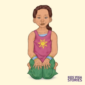 Hero Pose for Kids | Kids Yoga Stories