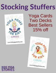 Stocking Stuffer Idea: Yoga Cards for Kids Pack | Kids Yoga Stories