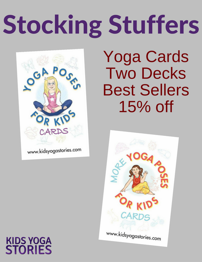 Stocking Stuffer Idea: Yoga Cards for Kids Pack | Kids Yoga Stories