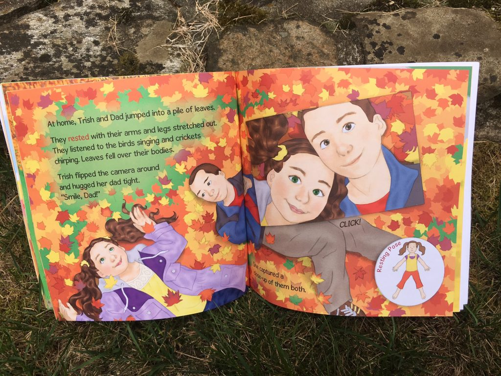 Trish's Fall Photography: A Kids Yoga Autumn Book | Kids Yoga Stories