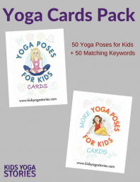 Yoga Cards for Kids Pack | Kids Yoga Stories