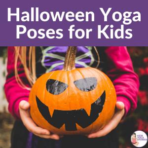 halloween yoga poses for kids | Kids Yoga Stories
