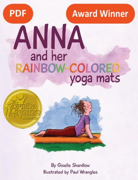 Anna and her Rainbow-Colored Yoga Mats PDF Download Image
