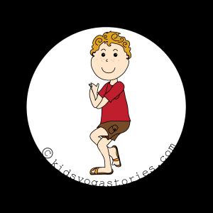 Eagle Pose for Kids | Kids Yoga Stories