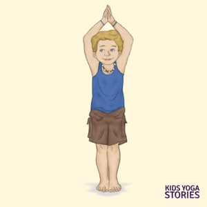 Extended Mountain Pose for Kids | Kids Yoga Stories