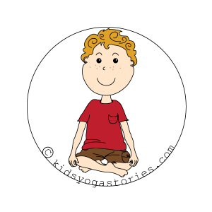 Easy Pose for Kids   Kids Yoga Stories